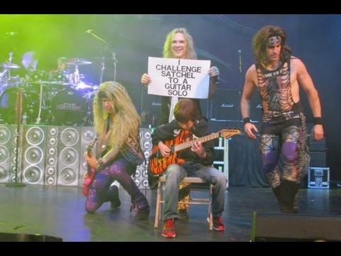 ***Explicit*** 11 year old Aidan Fisher with Steel Panther