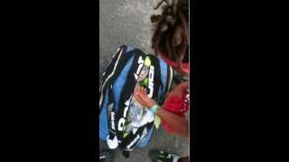 preview picture of video 'ATP ITF Futures ATP Tennis Bag check Granby Challenger Johnnyblazed.com Jul10,2011 Quebec CANADA'