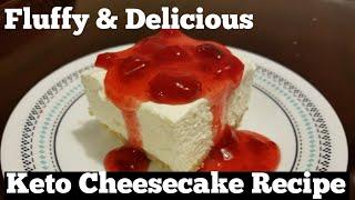 KETO Cheesecake Recipe!  Totally Amazing! | Emily on Keto