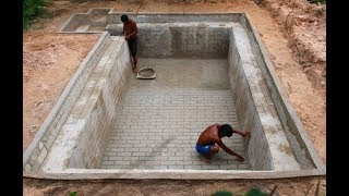 Build Awesome Luxury  Swimming Pool In The Ground .