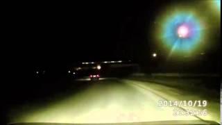 Пьяная женщина за рулем в Амурске выехала на встречную полосу