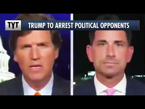 Trump To Start ARRESTING Political Opponents