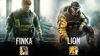Download TWO NEW OPERATORS: FINKA AND LION - Rainbow Six