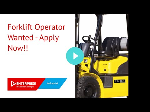 mp4 Now Hiring Forklift Operator, download Now Hiring Forklift Operator video klip Now Hiring Forklift Operator