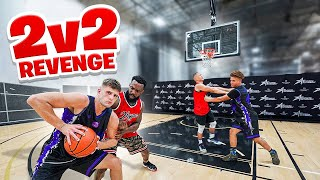 They Got EXPOSED BAD!! 2v2 Basketball Against Nick Briz & Carlos!