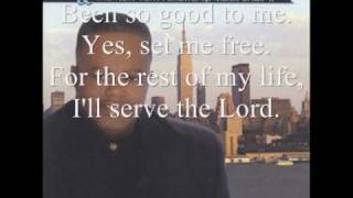 """Video thumbnail of """"For the Rest of My Life by Rev. Timothy Wright and the New York Fellowship Mass Choir"""""""