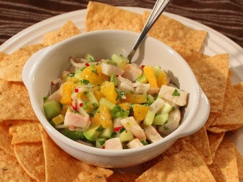 Mahi Mahi Ceviche Recipe – Marinated Fish Salad – Great for Summer!