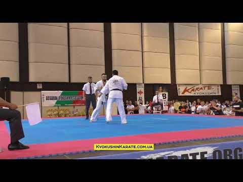 the 32nd European Championship, Final -80kg Ashot Zarinyan (Russia, aka) - Lasha Gabaraev (Russia)