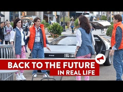 Back to the Future Twins Prank – Movies In Real Life (Episode 5)