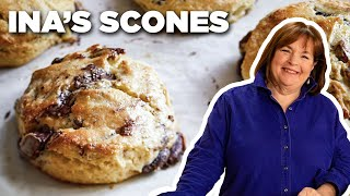 Ina Gartens Chocolate Pecan Scone Recipe   Food Network