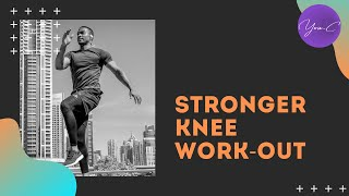 FITNESS 101 EP#16 : STRONGER KNEE WORKOUT ✨ GET FIT #25