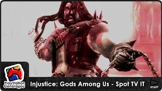 "PlayStation - Injustice: Gods Among Us - Ultimate Edition - Spot 15"" ITA (2013)"