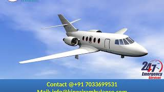 Book Finest Air Ambulance from Gorakhpur and Silchar with Medical Team