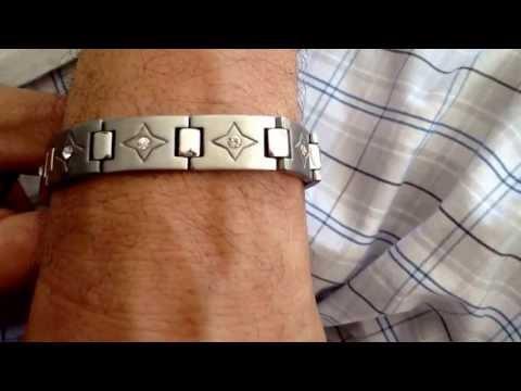 B3842  Men's Stainless Steel Unisex Link Bracelet