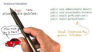 Instance Variable - Intro to Java Programming
