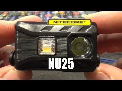 Nitecore NU25 Ultralight Headlamp Review