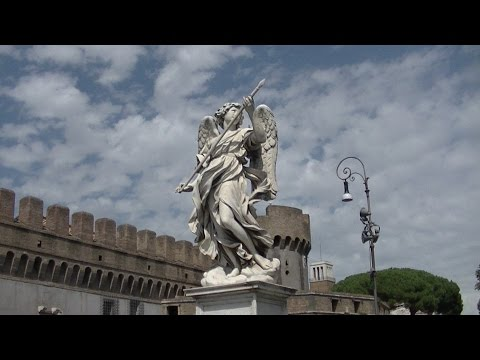 Castel Sant'Angelo...Рим сверху ЗАМОК СВ