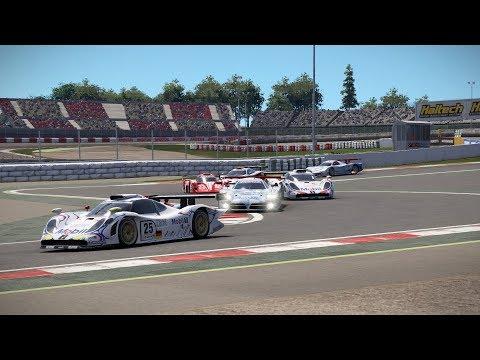 Project CARS 2 Test Race 25 Barcelona Nissan R390 GT1 Longtail Broadcast