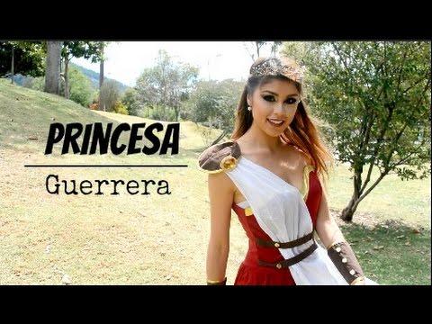 Disfraz Princesa Guerrera! Maquillaje HALLOWEEN-Pautips