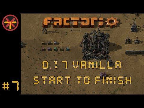 Factorio 0 17 Vanilla EP 7: Start To Finish - Our First