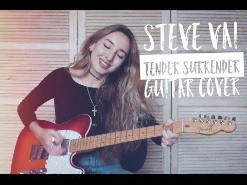 Steve Vai - Tender Surrender guitar cover by Yana