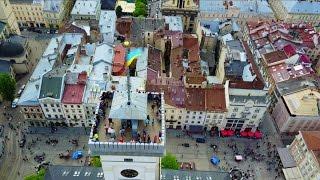 ЛЬВОВ ⚜️2018 (Львів) с высоты, c квадрокоптера что посмотреть