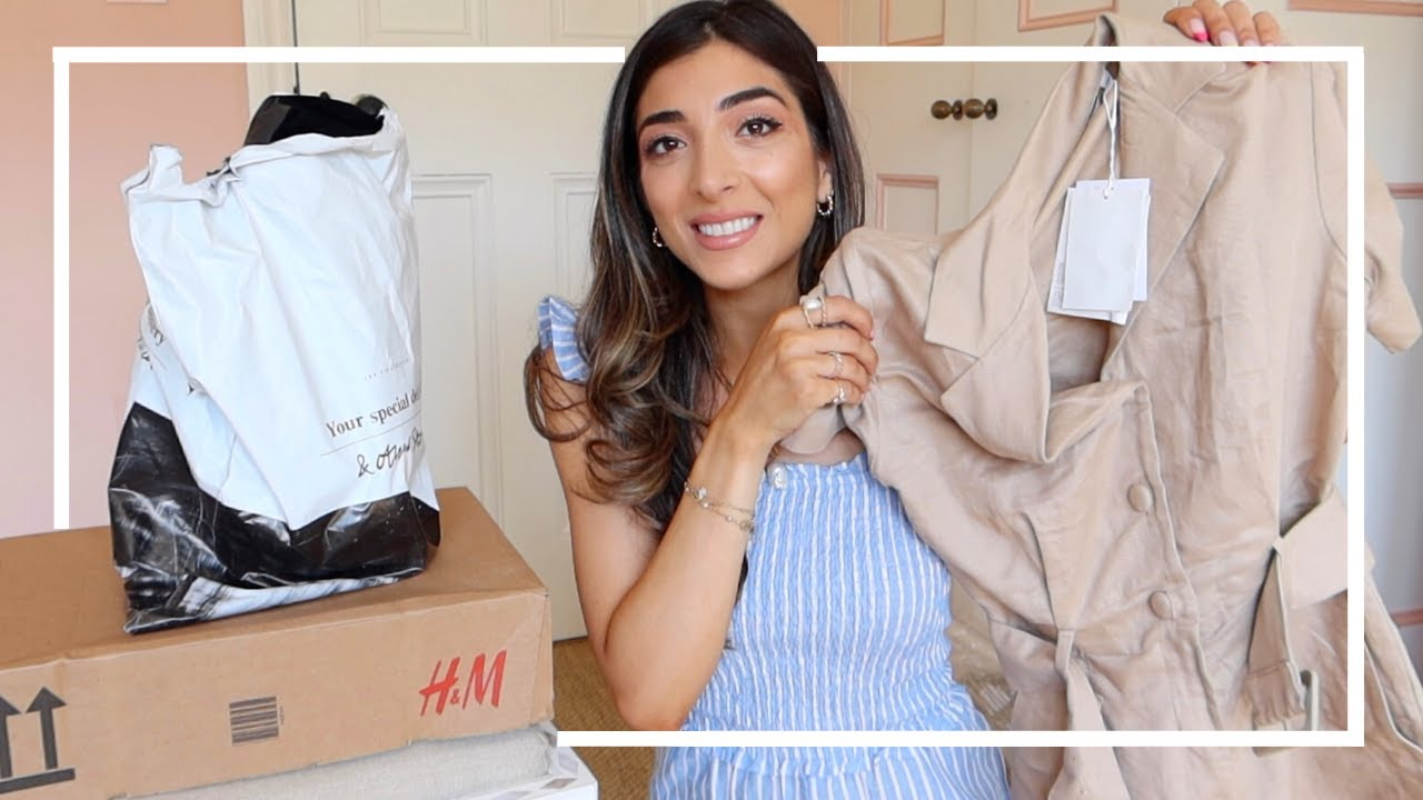 H&M, & Other Stories & Home HAUL!   Amelia Liana