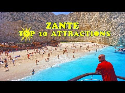 Video Zante Top 10 Attractions  HD