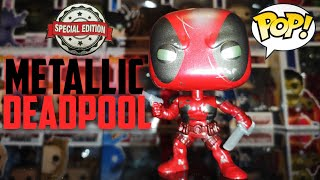 METALLIC DEADPOOL FUNKO POP | UNBOXING & REVIEW | 80 YEARS OF MARVEL