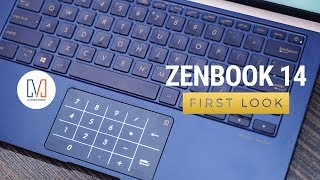 ASUS Zenbook 14: Giving the NumPad a new home