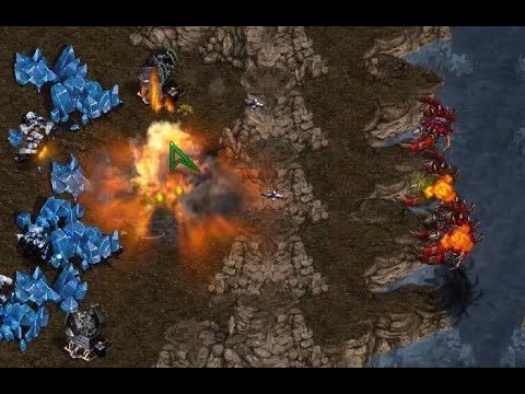 drewbie (T) v InControl (Z) on Fighting Spirit - StarCraft - Brood War