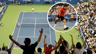 How it Feels to Witness Roger Federer Live? (Best Crowd Moments)