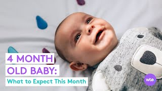 Four-Month-Old Baby - What to Expect