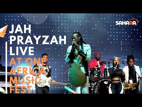 JAH PRAYZAH Of Zimbabwe Performs Live At #ONEAFRICAMUSICFEST NYC 2019