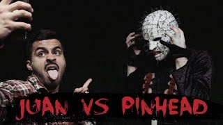 Juan vs Pinhead   David Lopez
