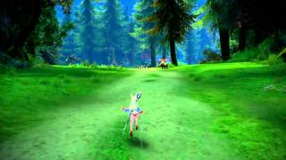 TERA Online Stress test 2010 (Elin race) [HD] -2