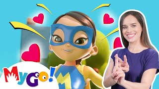 Super Mom | Sign Language For Kids | Baby Songs | Little Baby Bum | ASL