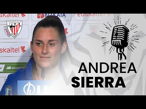 🎙️ Andrea Sierra I post Athletic Club 1-1 Levante UD I J16 Primera Iberdrola