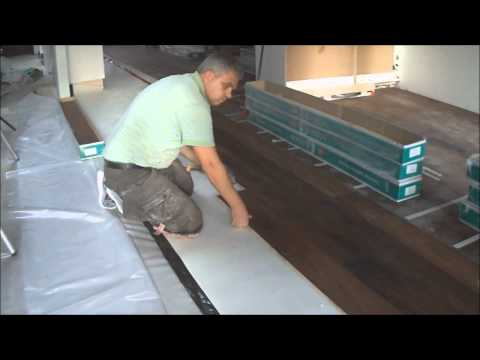 Floating Engineered Hardwood Floor and Laminate Installation How To Mryoucandoityourself