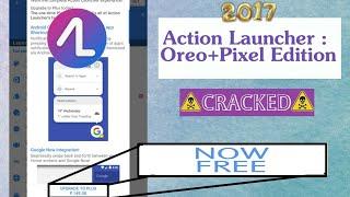 action launcher oreo + pixel plus apk cracked
