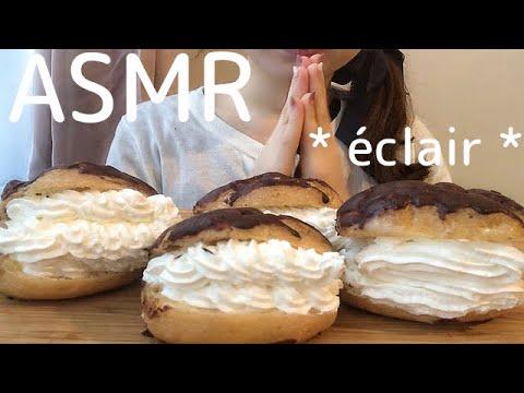 【ASMR】ホイップクリームたっぷり✨メープルパンケーキを食べる🥞💕No Talking・mukbang・eating sounds🎶pancake💕