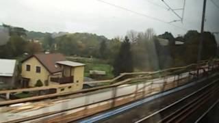 preview picture of video 'EuroCity EC 277 Slovan Part 1 Praha hl.n to Kolín'