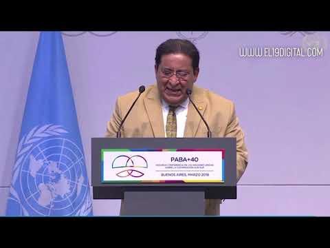 Nicaragua en la conferencia de las Naciones Unidas sobre la Cooperación Sur-Sur
