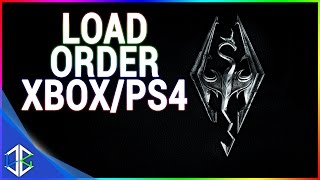 How Load Order Works - Skyrim Special Edition (Xbox/PS4)