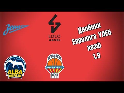 ЕВРОЛИГА УЛЕБ ДВОЙНИК 2.4.2021 20:00 /Прогнозы и ставки на баскетбол/Евролига УЛЕБ