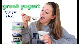 Healthy Greek Yogurt Tasting— which one is the best?