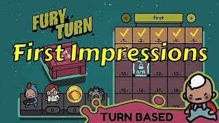 Fury Turn - TURN-BASED PUZZLE SHOOTER FIRST LOOK COMMENTARY