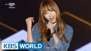 EXID - AH YEAH (아예) [Music Bank HOT Stage / 2015.10.16]