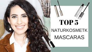 TOP 5 NATURKOSMETIK MASCARAS I talisaminoush #naturkosmetik