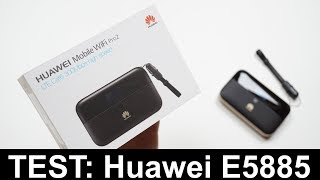 Test: Huawei E5885 Mobile WiFi Pro2 (deutsch)